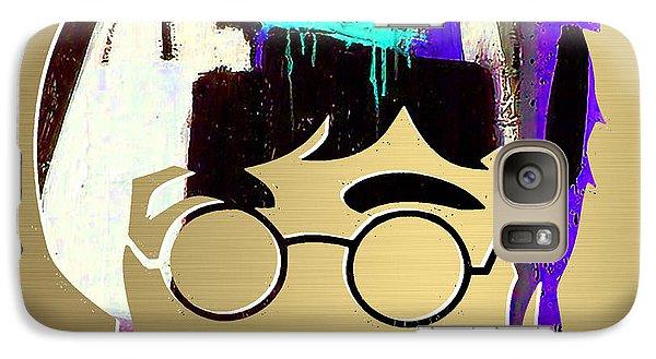 John Lennon Gold Series Galaxy Case by Marvin Blaine