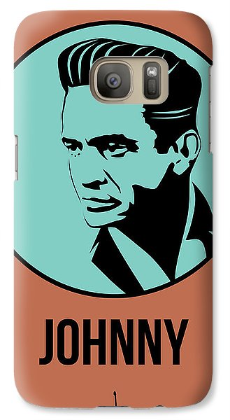 Johnny Poster 1 Galaxy Case by Naxart Studio