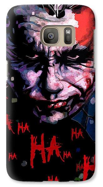 Joker Galaxy S7 Case by Jeremy Scott