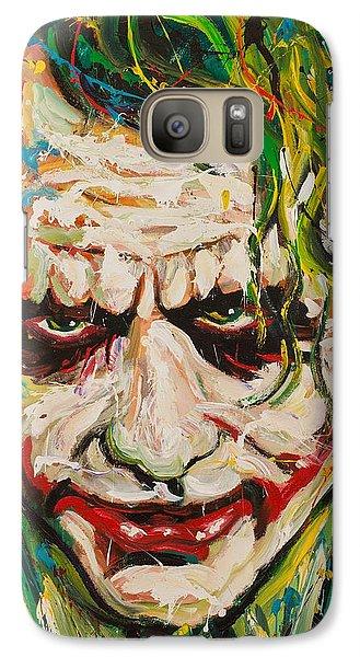 Joker Galaxy Case by Michael Wardle