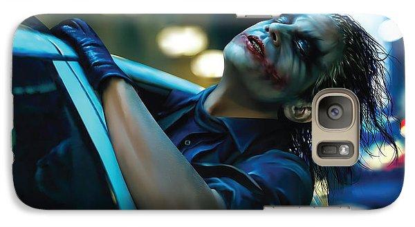 Joker Galaxy S7 Case by Veronika Limonov