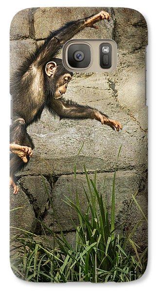Jump For Joy Galaxy Case by Jamie Pham