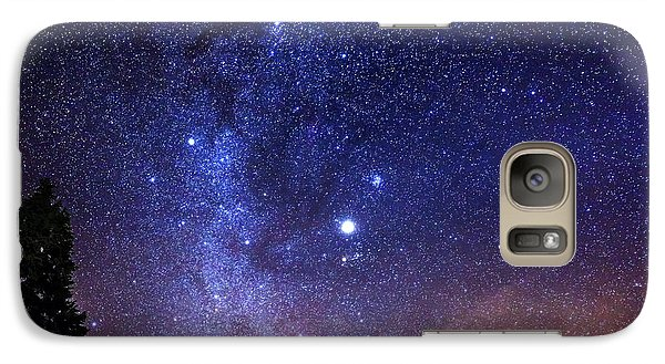 Jupiter Rising Galaxy Case by Alexis Birkill