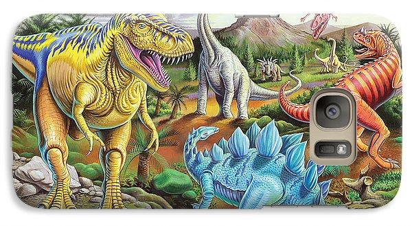 Jurassic Jubilee Galaxy Case by Mark Gregory