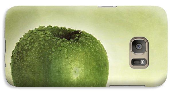 Just Green Galaxy S7 Case by Priska Wettstein