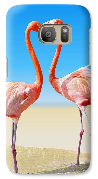 Just We Two Galaxy Case by Kristin Elmquist