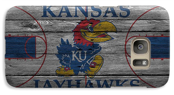 Kansas Jayhawks Galaxy Case by Joe Hamilton