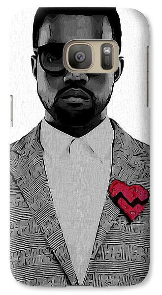 Kanye West  Galaxy S7 Case by Dan Sproul