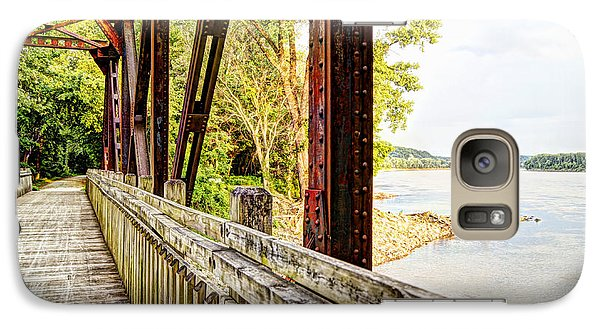Katy Trail Near Coopers Landing Galaxy S7 Case by Cricket Hackmann