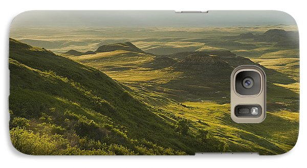 Killdeer Badlands In The East Block Of Galaxy S7 Case by Dave Reede