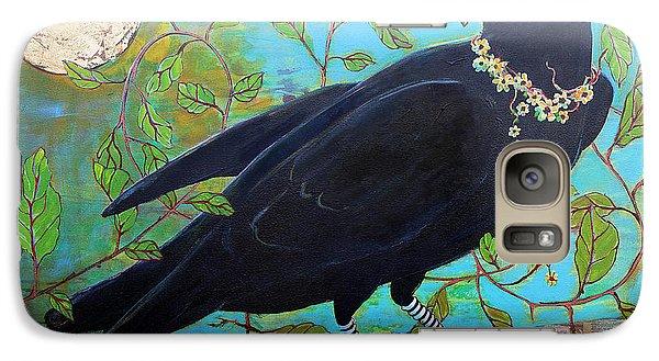 King Crow Galaxy S7 Case by Blenda Studio