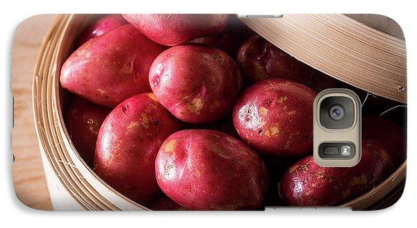 King Edward Potatoes Galaxy S7 Case by Aberration Films Ltd