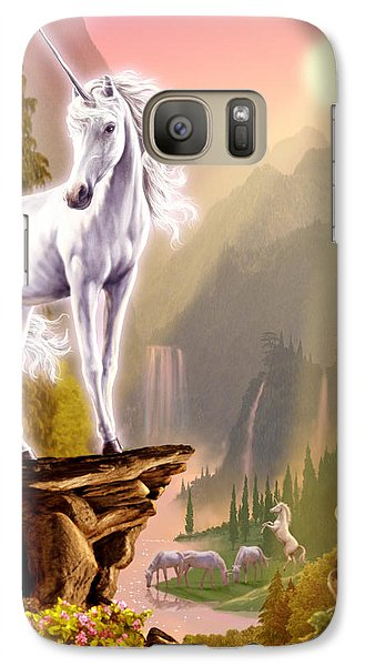 King Of The Valley Galaxy S7 Case by Garry Walton