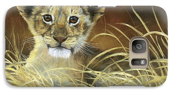 King To Be Galaxy Case by Lucie Bilodeau