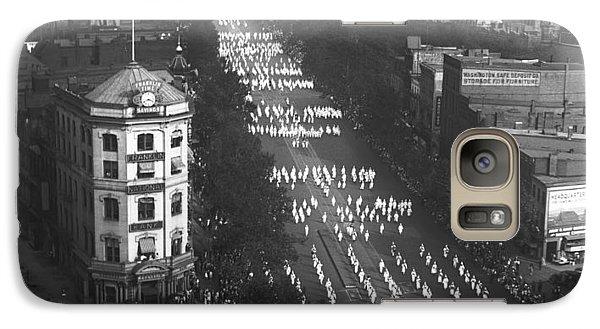 Ku Klux Klan Parade Galaxy S7 Case by Underwood Archives