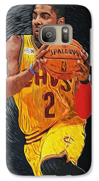 Kyrie Irving Galaxy S7 Case by Taylan Soyturk