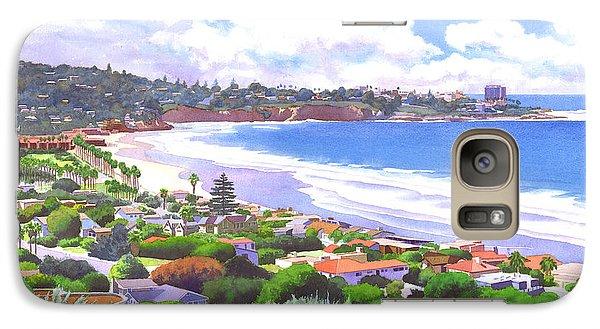 La Jolla California Galaxy Case by Mary Helmreich