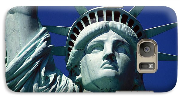 Lady Liberty Galaxy S7 Case by Jon Neidert