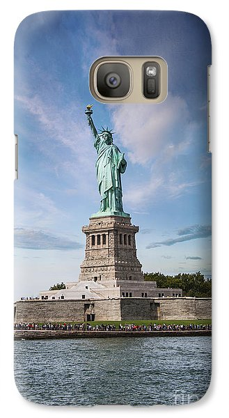 Lady Liberty Galaxy S7 Case by Juli Scalzi