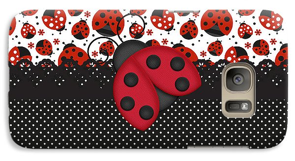 Ladybug Mood  Galaxy S7 Case by Debra  Miller
