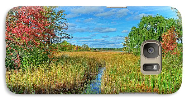 Galaxy Case featuring the photograph Lake Sixteen by Rodney Campbell