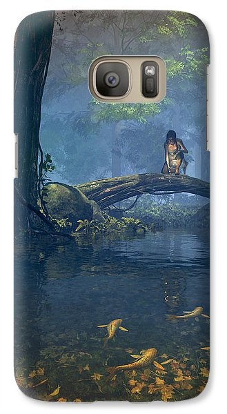 Lantern Bearer Galaxy S7 Case by Cynthia Decker
