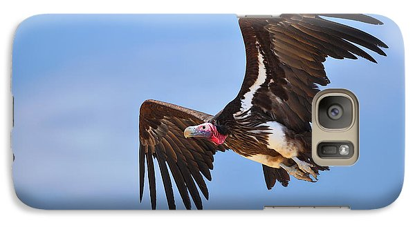 Lappetfaced Vulture Galaxy Case by Johan Swanepoel