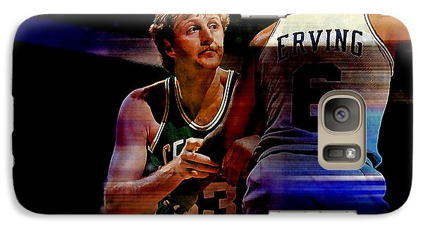 Larry Bird Galaxy S7 Case by Marvin Blaine