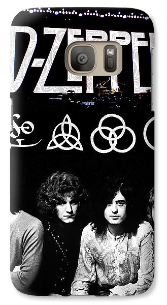 Led Zeppelin Galaxy S7 Case by FHT Designs