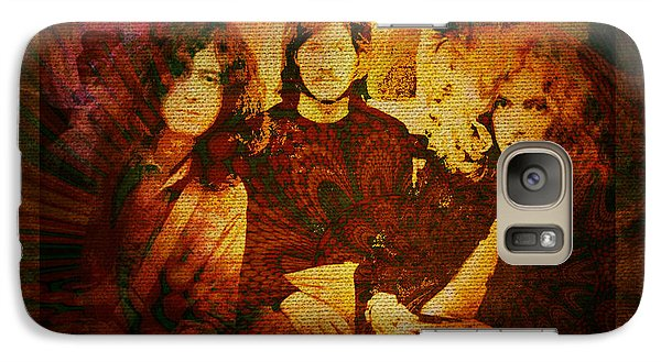 Led Zeppelin - Kashmir Galaxy Case by Absinthe Art By Michelle LeAnn Scott