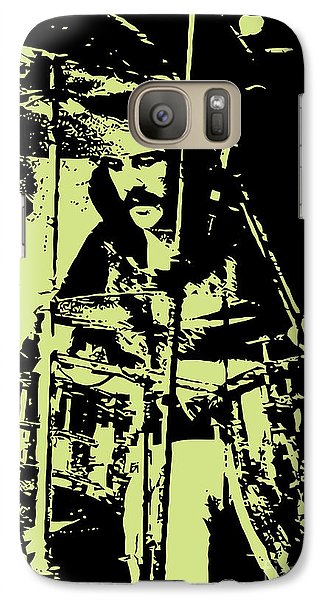 Led Zeppelin No.05 Galaxy Case by Caio Caldas