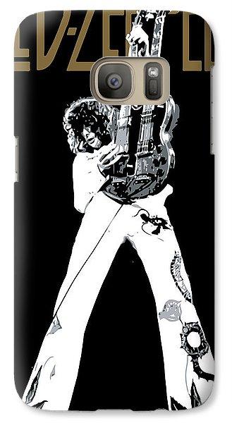 Led Zeppelin No.06 Galaxy Case by Caio Caldas