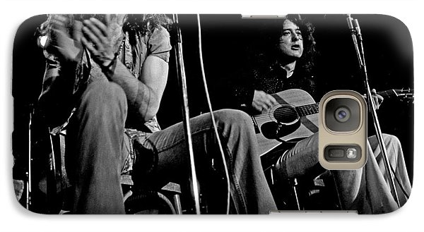 Led Zeppelin Galaxy S7 Case by Georgia Fowler