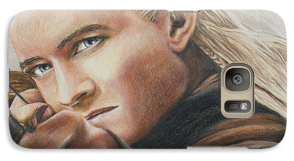 Legolas / Orlando Bloom Galaxy Case by Christine Jepsen