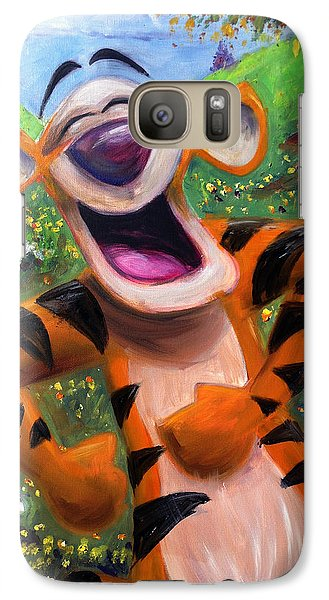 Let's You And Me Bounce - Tigger Galaxy S7 Case by Andrew Fling