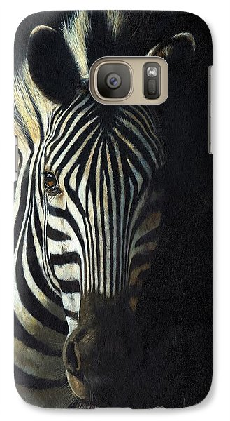 Light And Shade Galaxy Case by David Stribbling