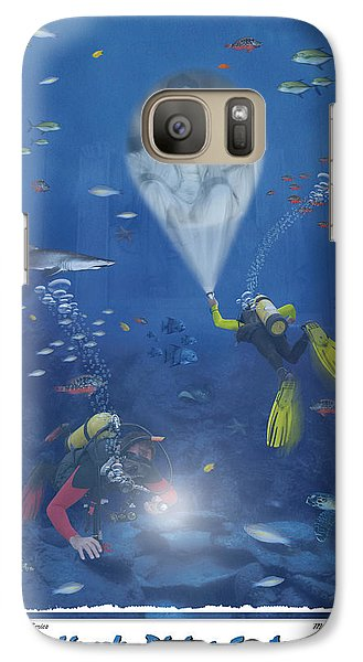 Lincoln Diving Center Galaxy Case by Mike McGlothlen