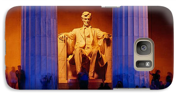 Lincoln Memorial, Washington Dc Galaxy Case by Panoramic Images