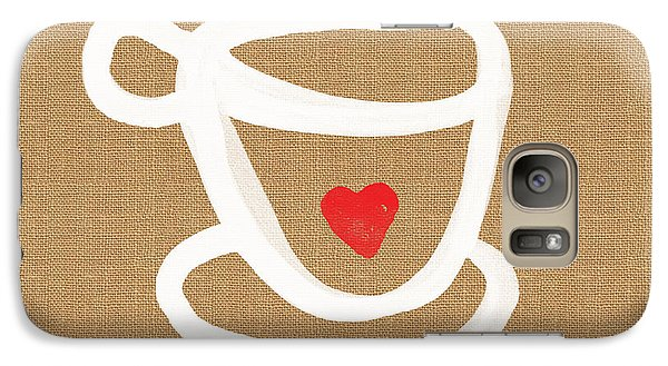 Little Cup Of Love Galaxy Case by Linda Woods