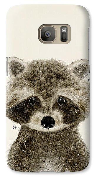 Little Raccoon Galaxy Case by Bri B