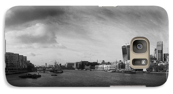 London City Panorama Galaxy Case by Pixel Chimp