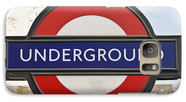London Underground Galaxy Case by Georgia Fowler