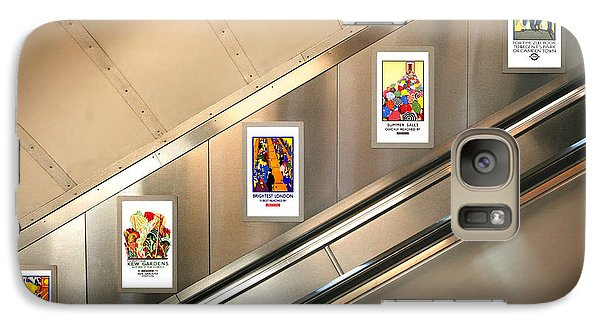 London Underground Poster Collection Galaxy Case by Mark Rogan