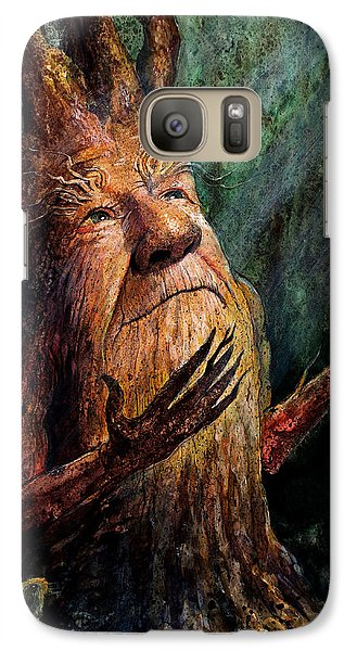 Looking To The Light Galaxy S7 Case by Frank Robert Dixon