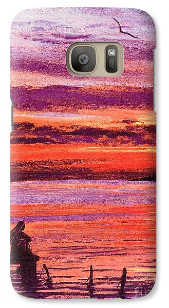 Lost In Wonder Galaxy Case by Jane Small