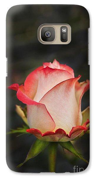 Love Is A Rose II Galaxy Case by Al Bourassa