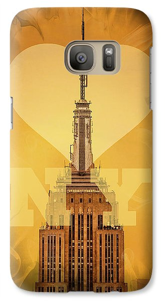 Love New York Galaxy Case by Az Jackson