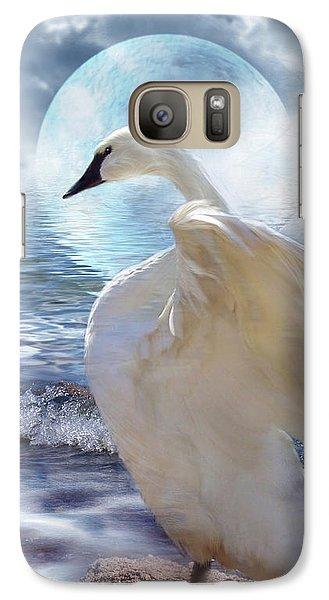 Love Swept Galaxy S7 Case by Carol Cavalaris