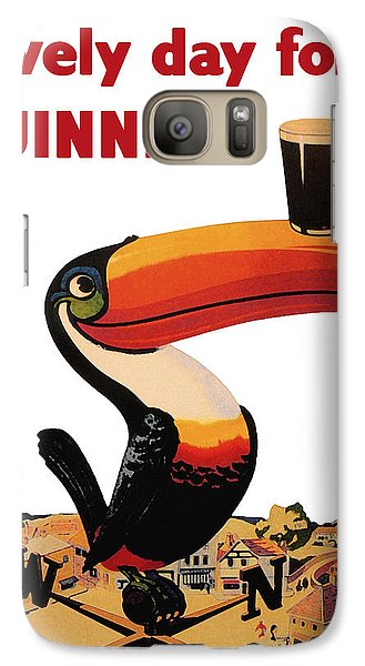 Lovely Day For A Guinness Galaxy S7 Case by Nomad Art