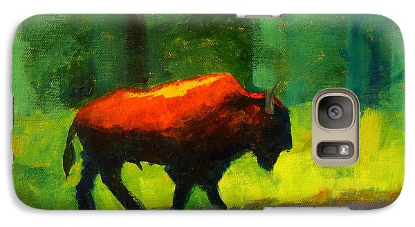Lumbering Galaxy Case by Nancy Merkle